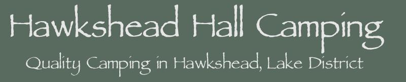Hawkshead Hall Camping